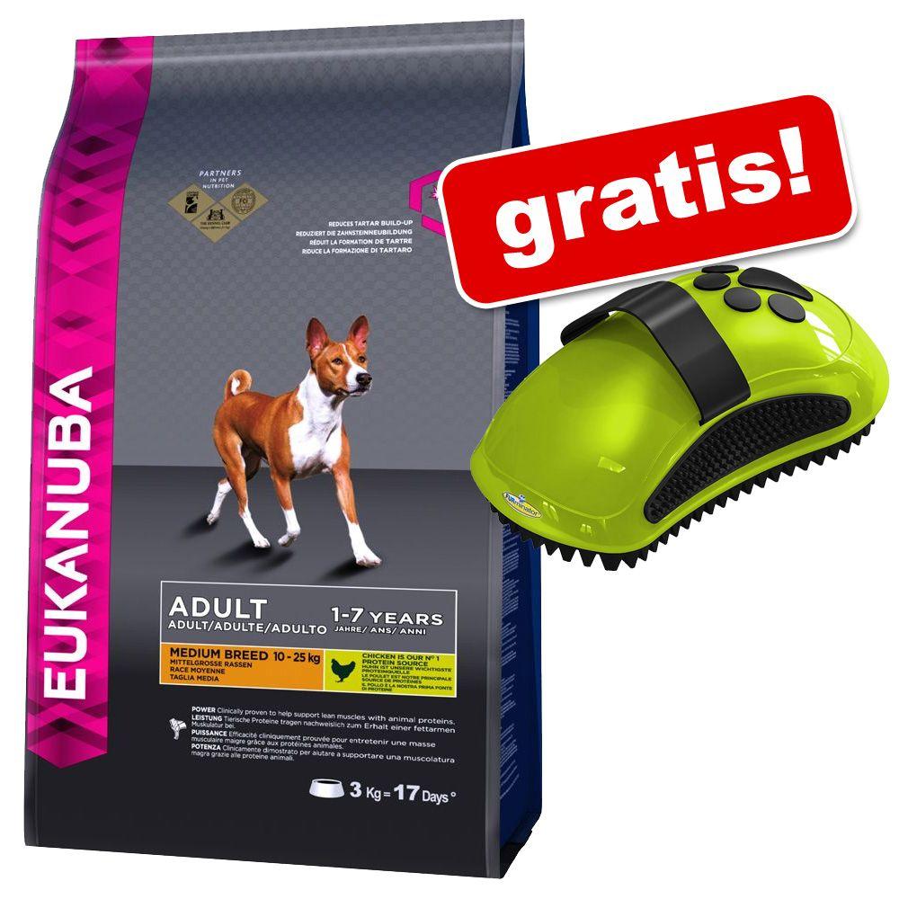 12 kg bzw. 15 kg Eukanuba + Furminator Striegel gratis! - Adult Light Große Rassen (15 kg)
