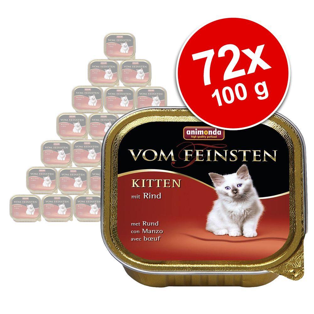 Sparpaket Animonda vom Feinsten Kitten 72 x 100...