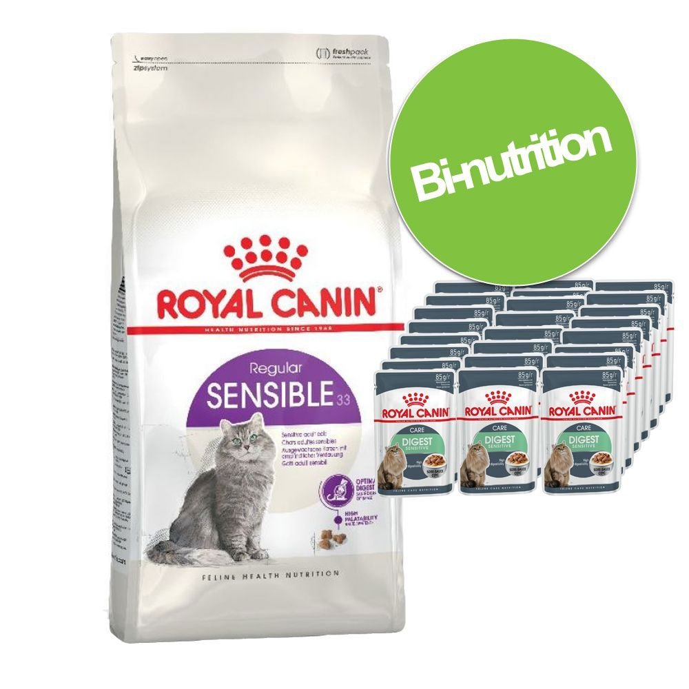 Chat Croquettes Royal Canin Bi nutrition