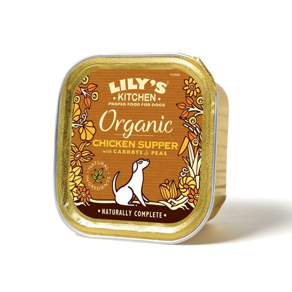 Lily's Kitchen Organic Chicken Supper for Dogs - Saver Pack: 22 x 150g