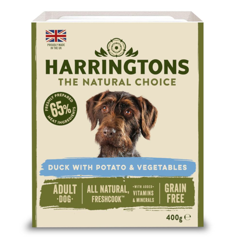 Harrington's Grain-Free Duck & Potato with Vegetables Adult Wet Dog Food
