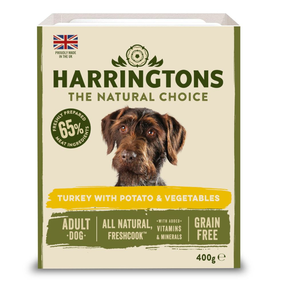 Harrington's Grain-Free Turkey & Potato with Vegetables Adult Wet Dog Food