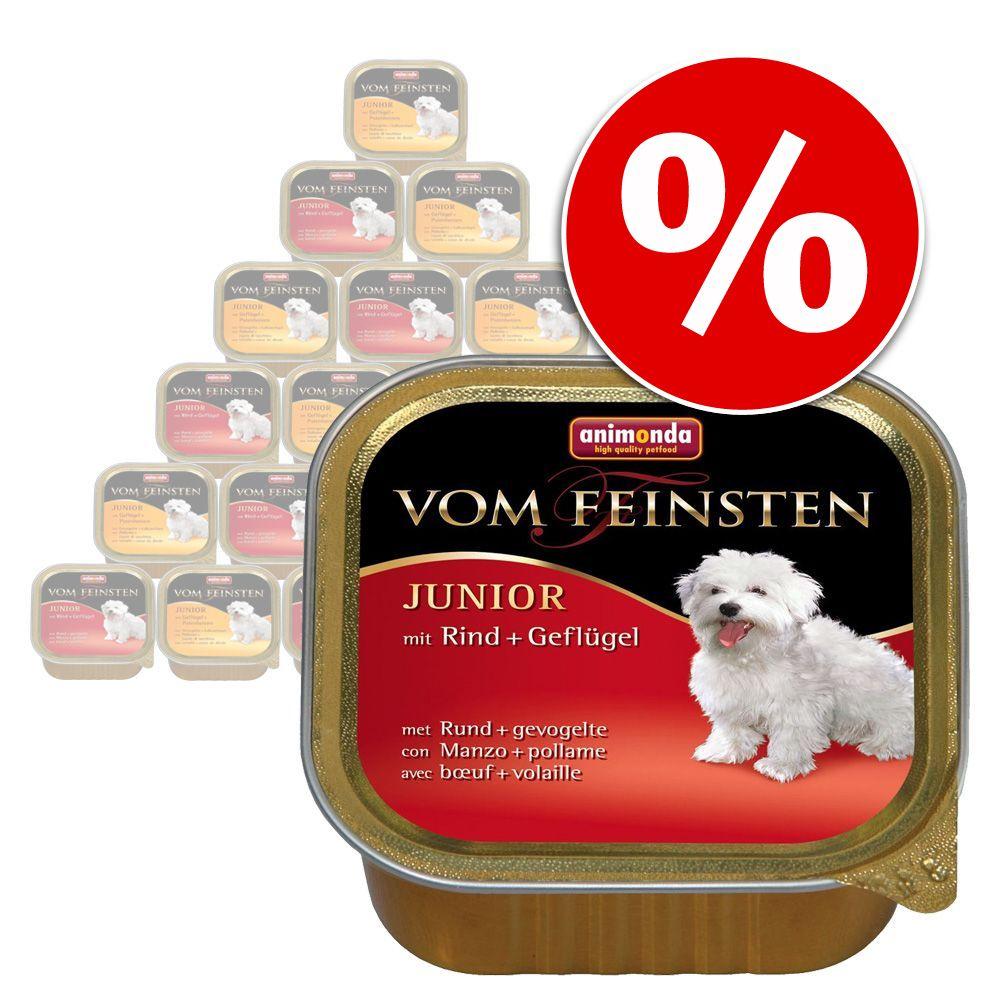 Pakiet mieszany Animonda vom Feinsten, 24 x 150 g - Senior, 2 smaki