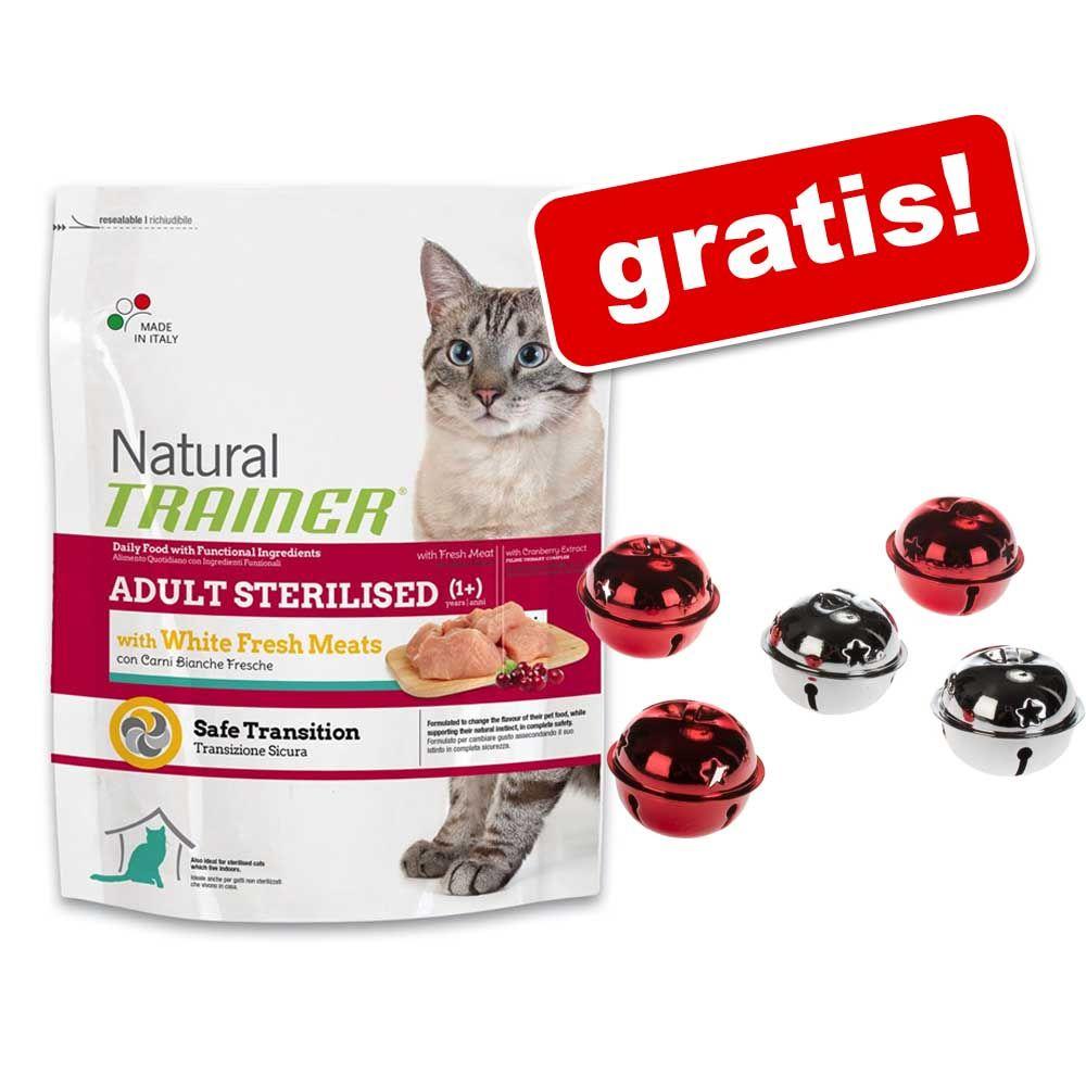 1,5 / 3 kg Trainer Natural + Dzwoneczki gratis! - Sterilised łosoś