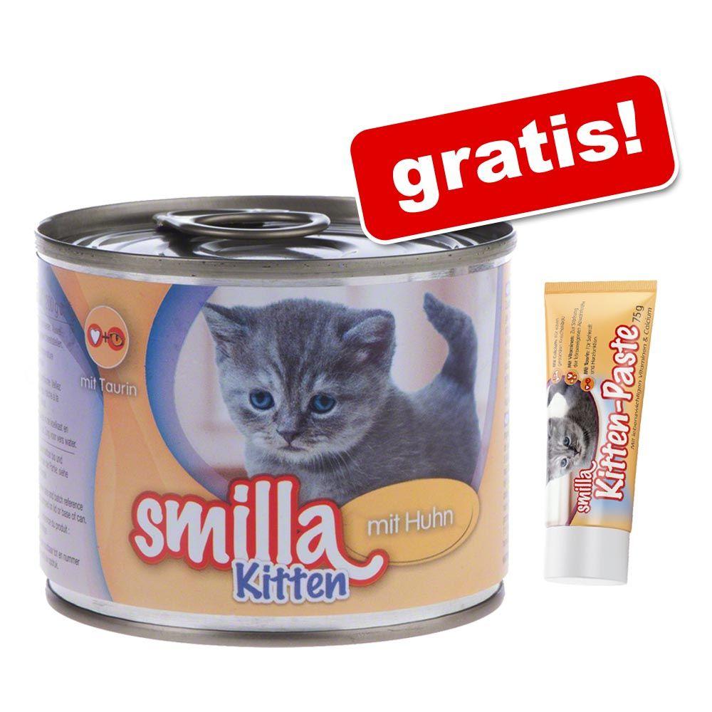 12 x 200 g Smilla Kitten