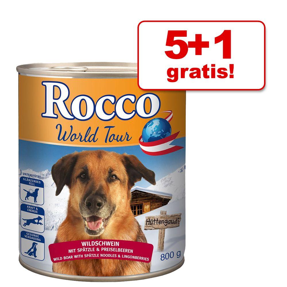 5 + 1 gratis! Rocco Podróże:
