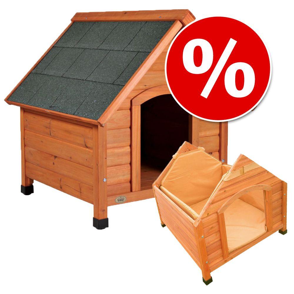 Chien Niche barrière et parc Isolation pour niche Lot niche isolation et porte pour chien
