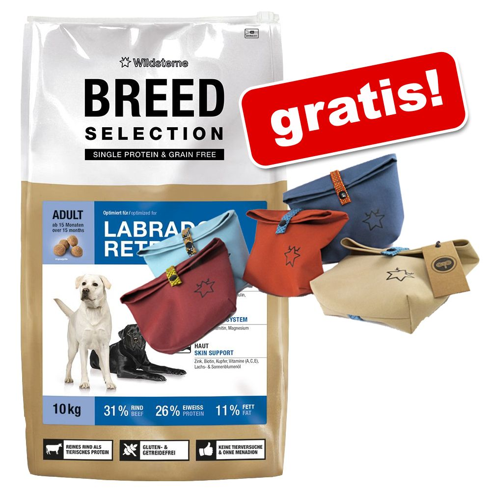 Großgebinde Wildsterne Breed Selection + Futterbeutel gratis! - French Bulldog