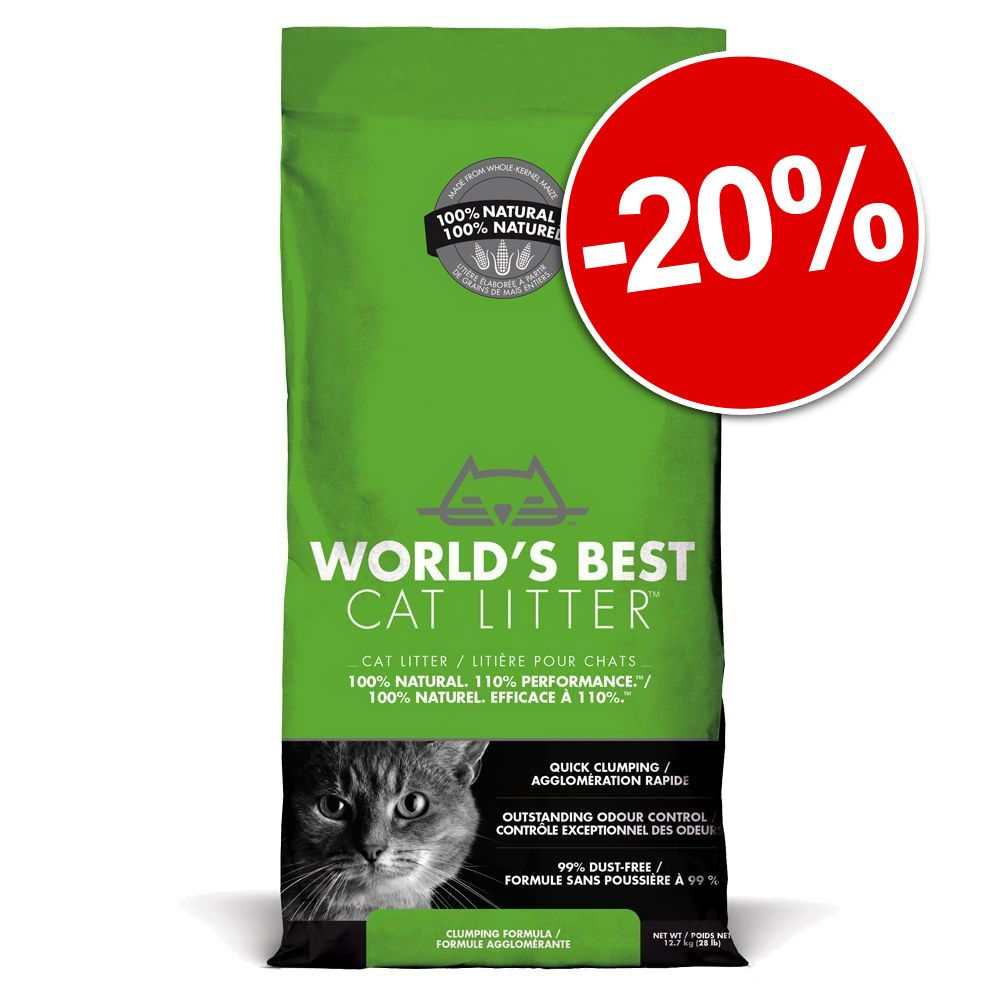 Chat Litière World´s Best Cat Litter