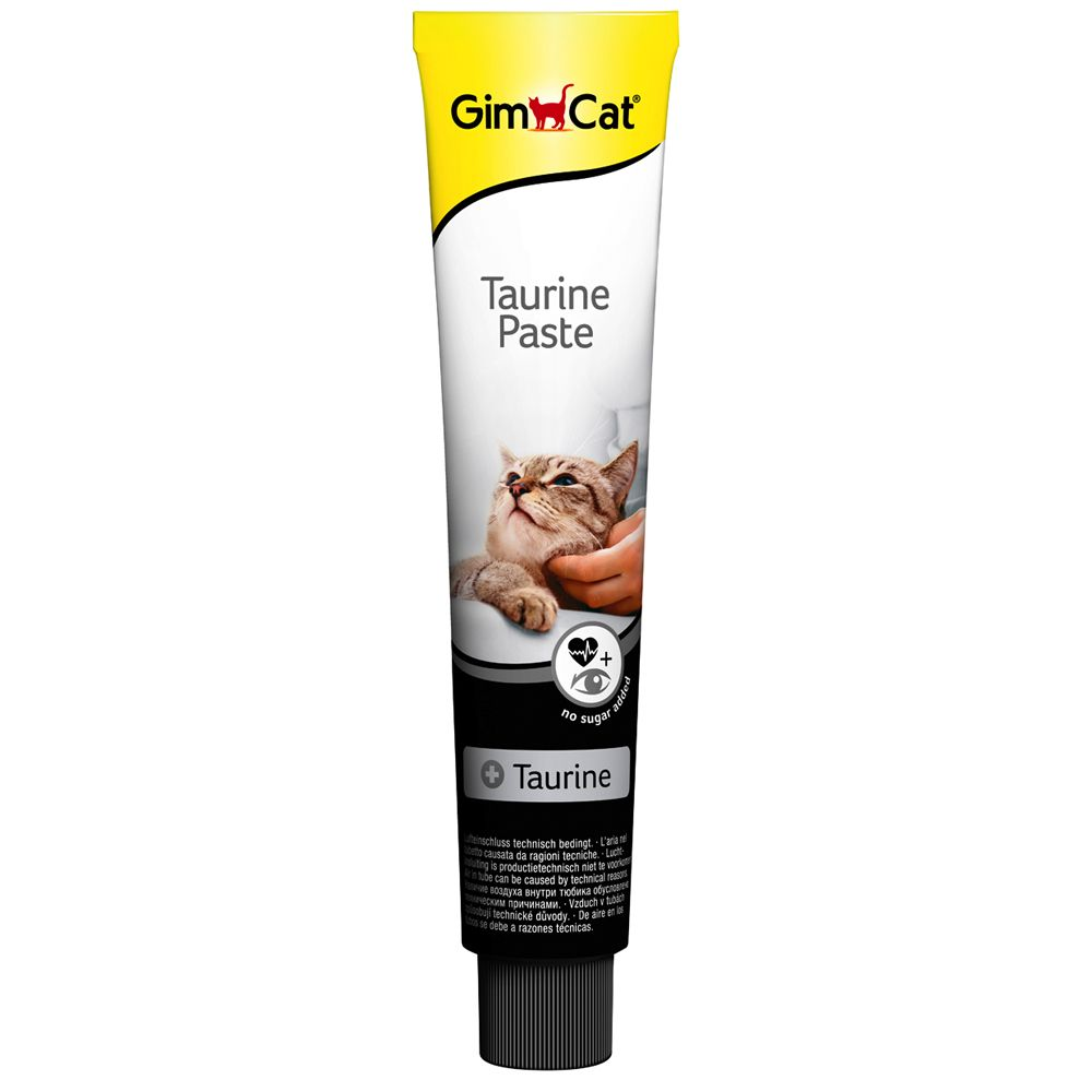Gimpet Taurine Paste - Saver Pack: 3 x 50g