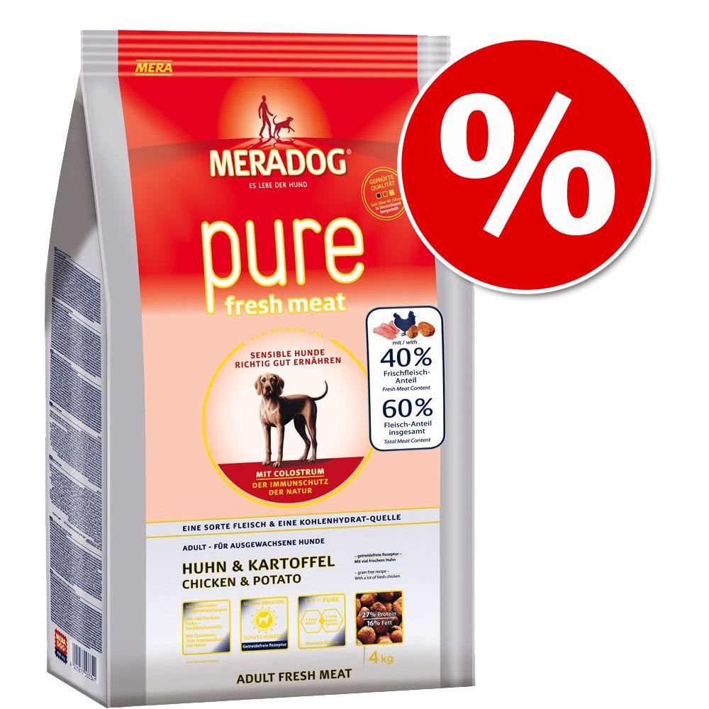 4 kg Mera Dog Pure w super cenie! - Kurczak i ziemniaki