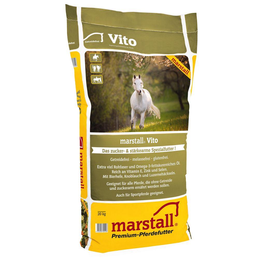 20kg Marstall Vito Muesli pour cheval