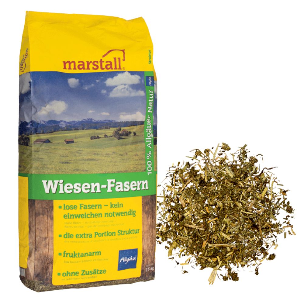 2x15kg Wiesen-Fasern Marstall - Alimentation pour cheval