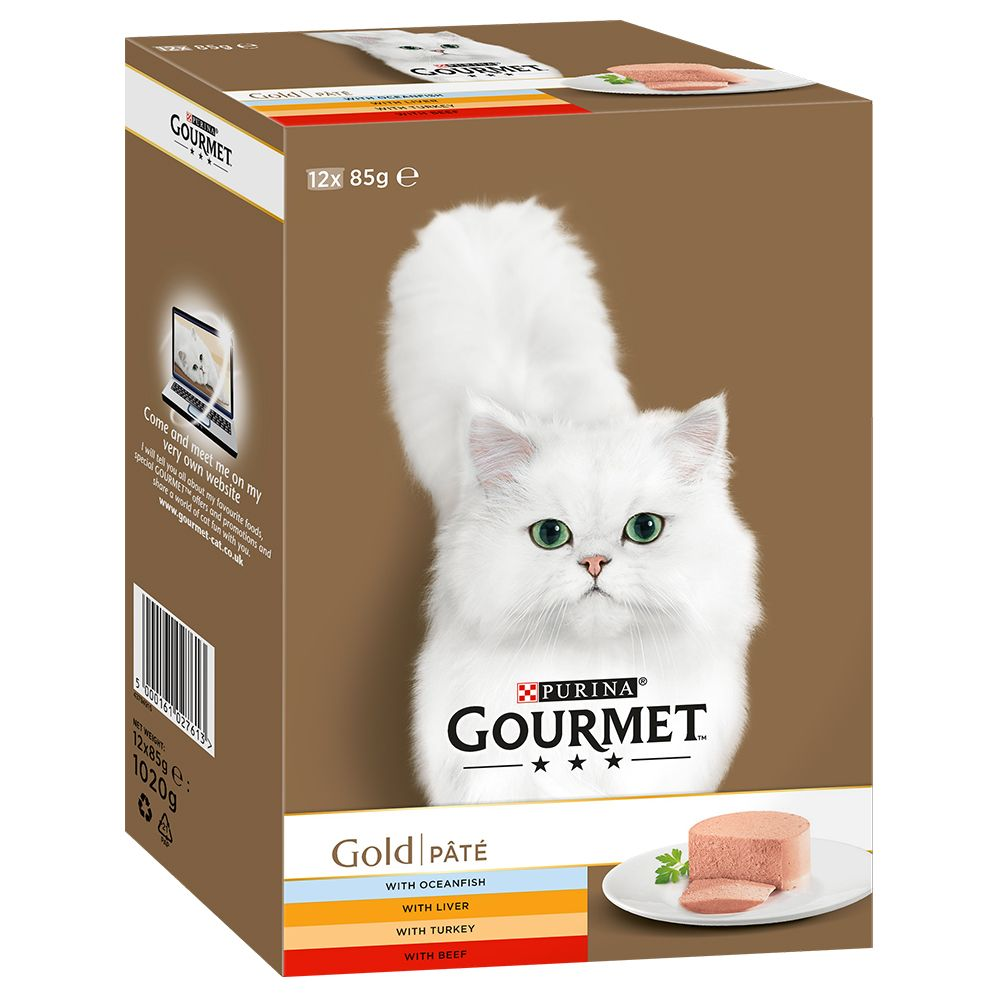 Gravy Collection Mixed Pack Gourmet Gold Wet Cat Food