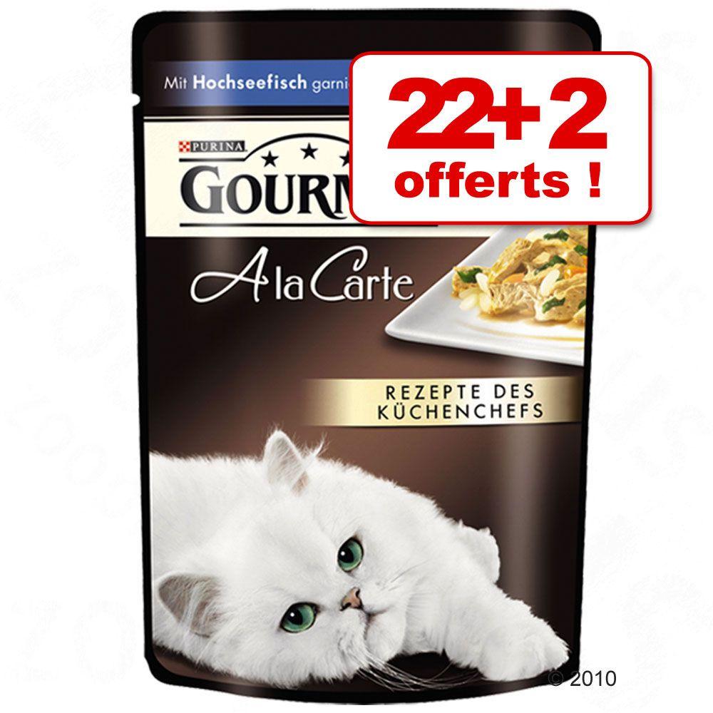 Chat Boîtes et sachets Gourmet Perle À la carte Mon Petit Gourmet À la Carte