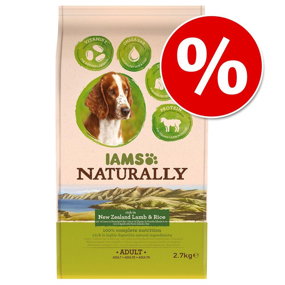 Probierpreis: IAMS Naturally Dog Adult - Lachs