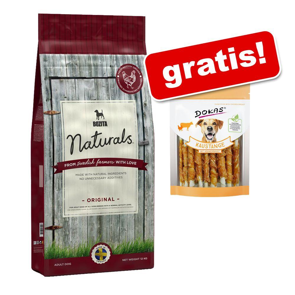 Großgebinde Bozita Naturals + 200 g Dokas Kausn...