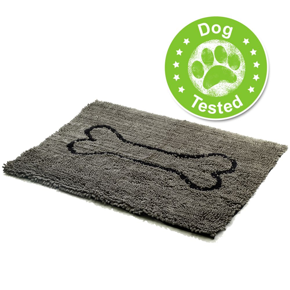 Dog Gone Smart Dirty Dog Doormat grau - L 90 x B 66 x H 2,5 cm