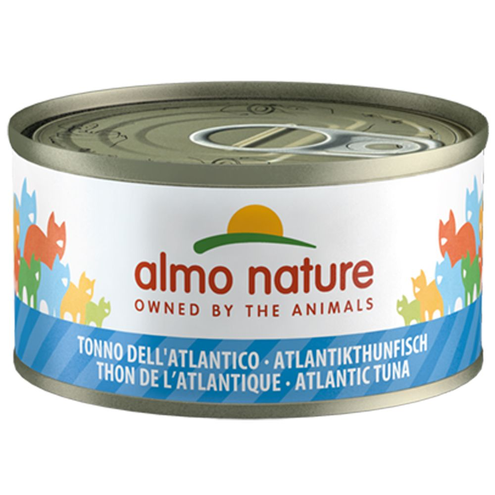 Almo Nature 6 x 70 g - Lachs in Gelee