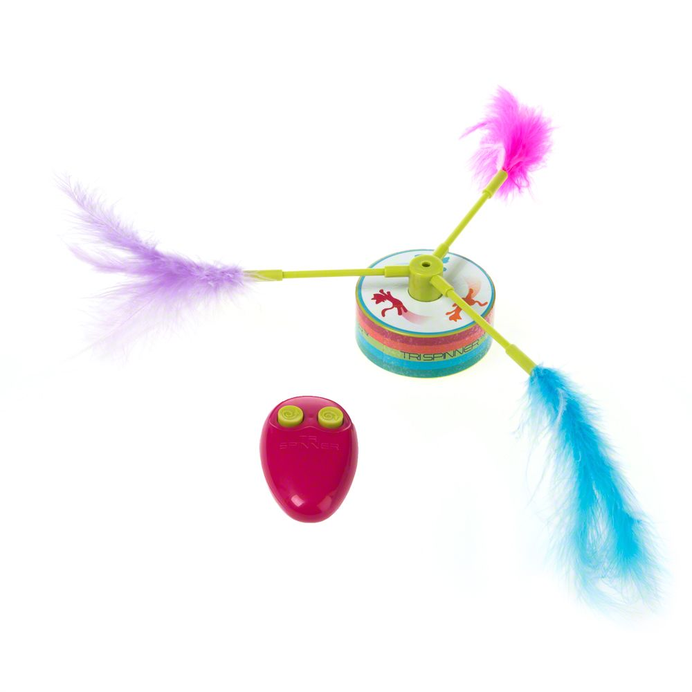 Tri Spinner Cat Toy - 1 Toy