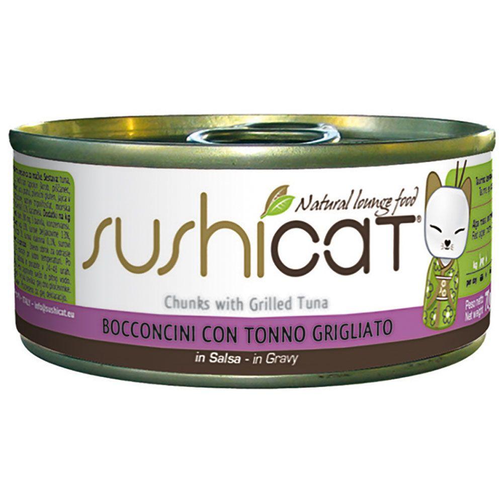 Sushicat, tuńczyk - 12 x 70 g