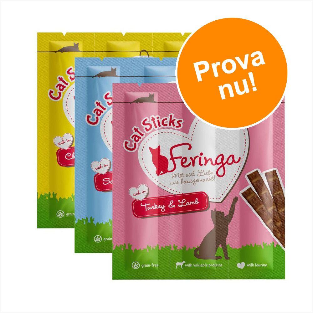 Provpack: Feringa Sticks - 9 x 6 g (3 olika sorter)