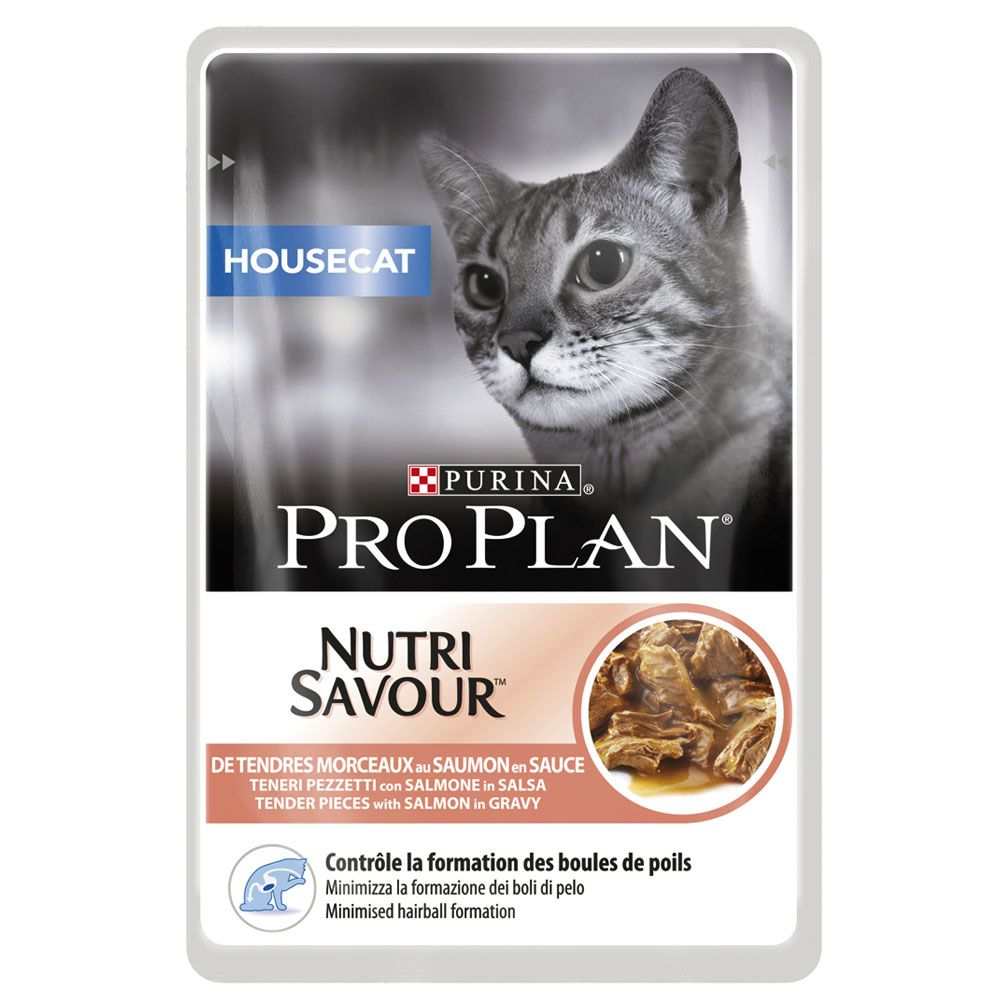 Salmon Housecat Pro Plan Nutrisavour Wet Cat Food