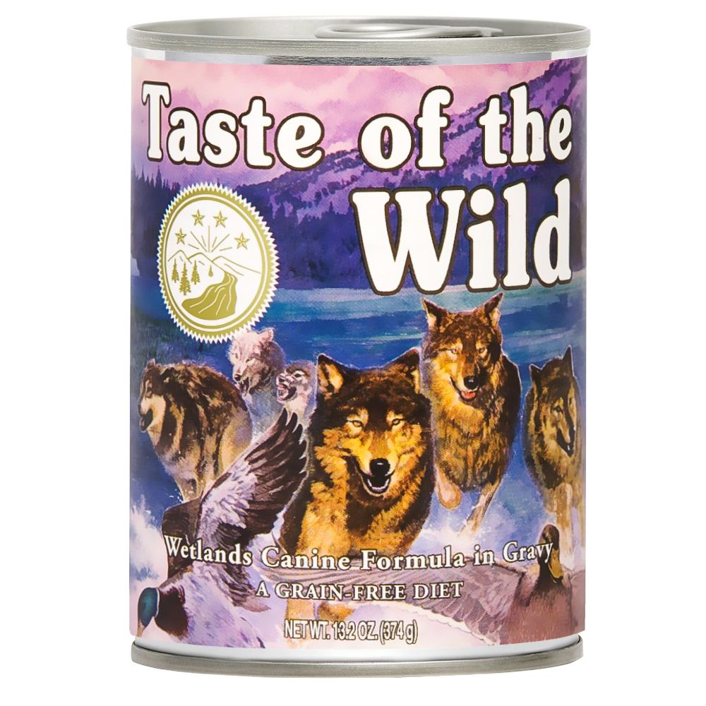 12x390g Wetlands Canine Taste of the Wild Wet Dog Food