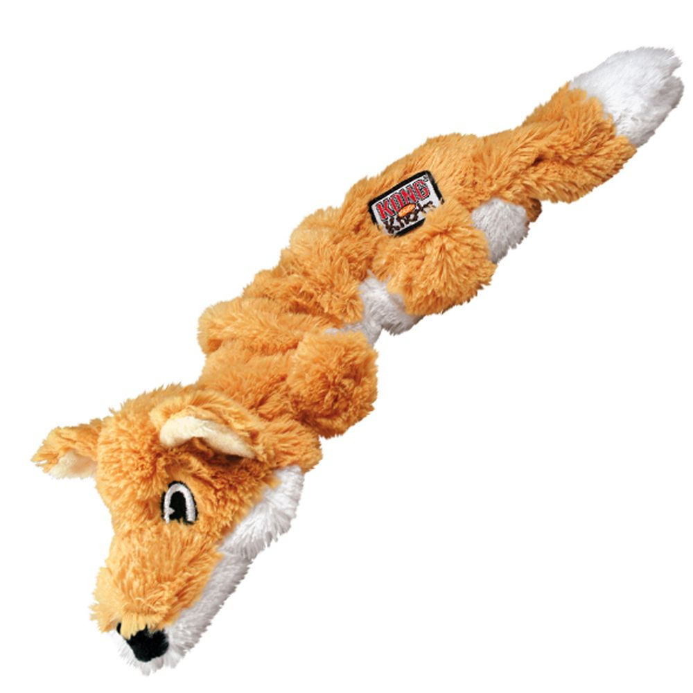 KONG Scrunch Knots Fox - Medium/Large
