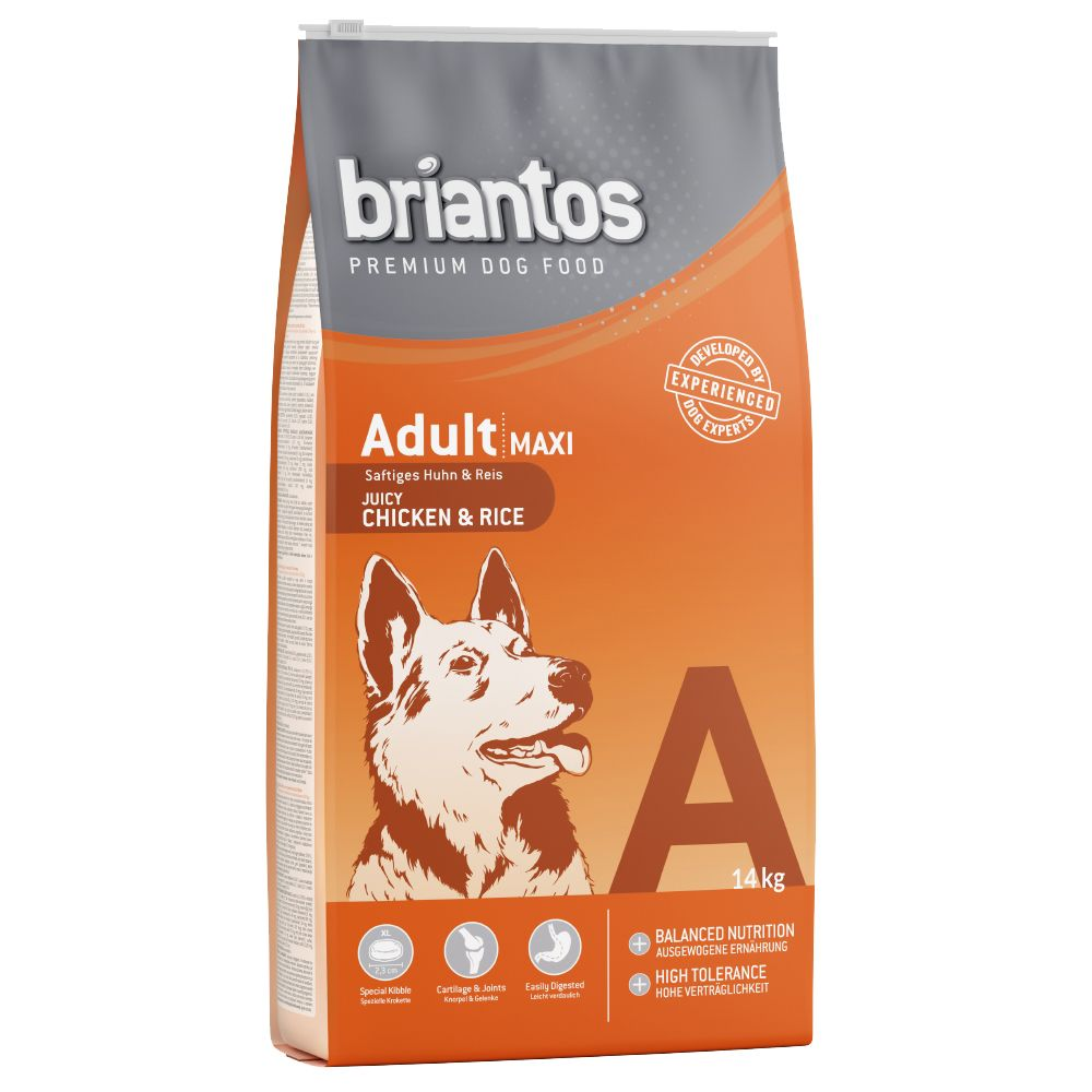 Briantos Adult Maxi Chicken & Rice Dry Dog Food