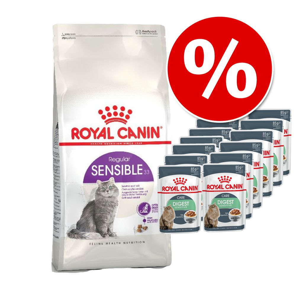 Bild von 2 kg Royal Canin + 12 x 85 g Royal Canin in Soße - Maine Coon Adult