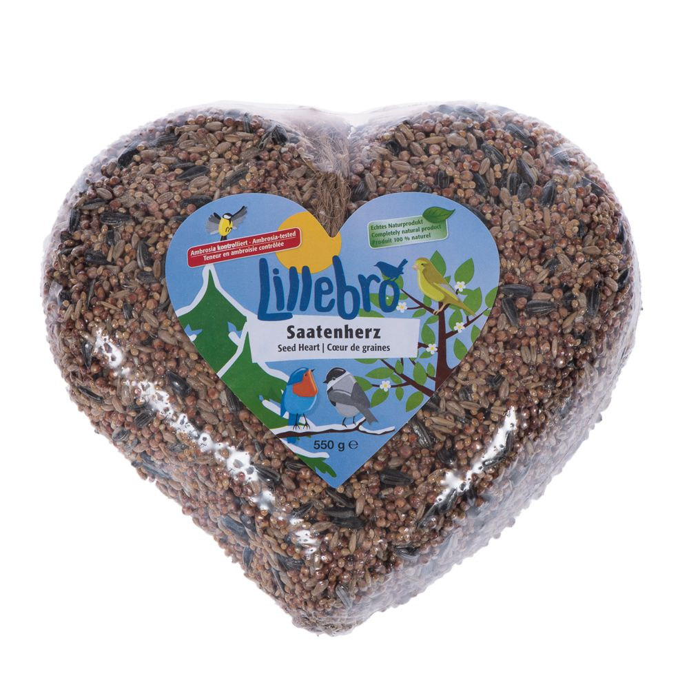 Lillebro Seed Heart - Save £1!* - 550g