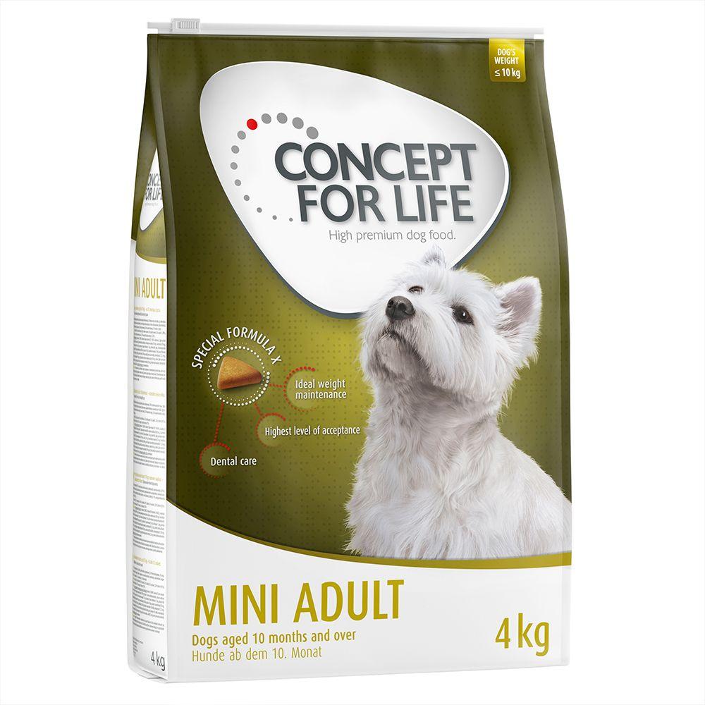 Concept for Life Mini Adult - Sparpaket 2 x 4 kg