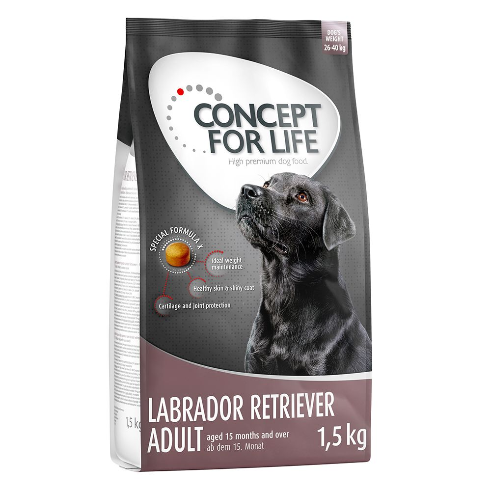 1.5kg Concept for Life Dry Dog Food - 2 + 1 Free!* - X-Large Adult (3 x 1.5kg)