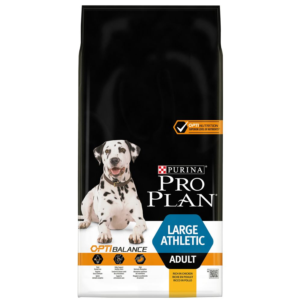 Adult Large Athletic OptiBlanace Chicken Pro Plan Dry Dog Food