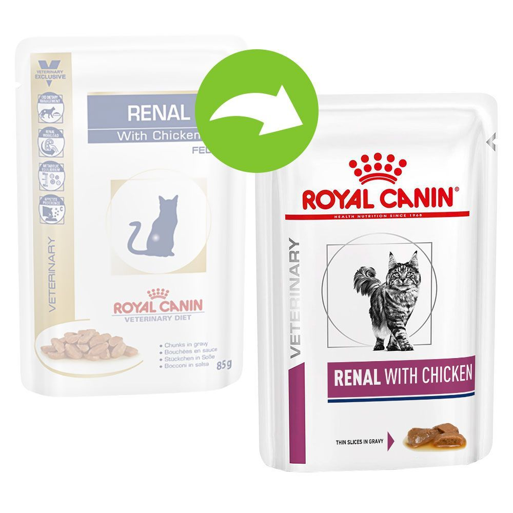 Royal Canin Renal Beef - Veterinary Diet - 12 x 85 g