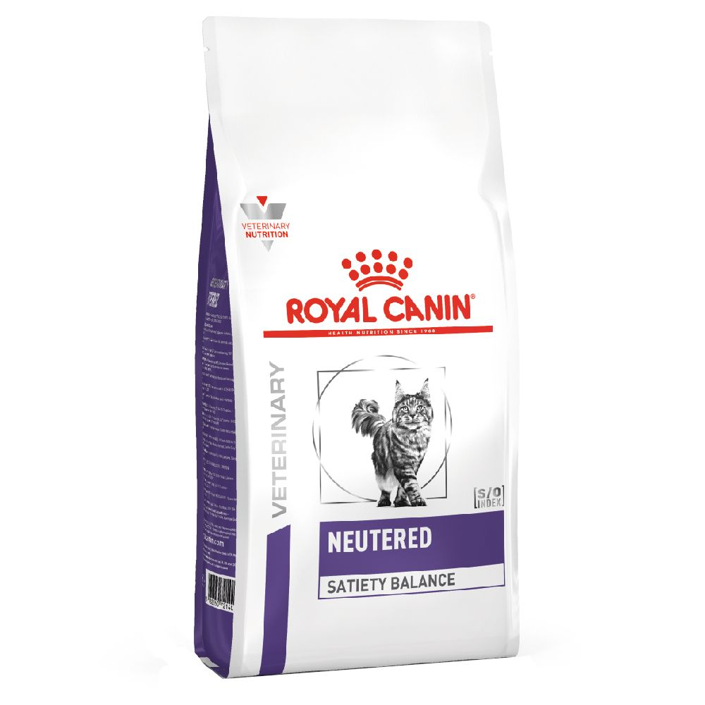 8kg Neutered Satiety Balance Royal Canin Veterinary Diet - Croquettes pour chat