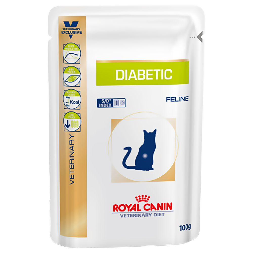Royal Canin Veterinary Diet Cat - Diabetic - 12 x 100g