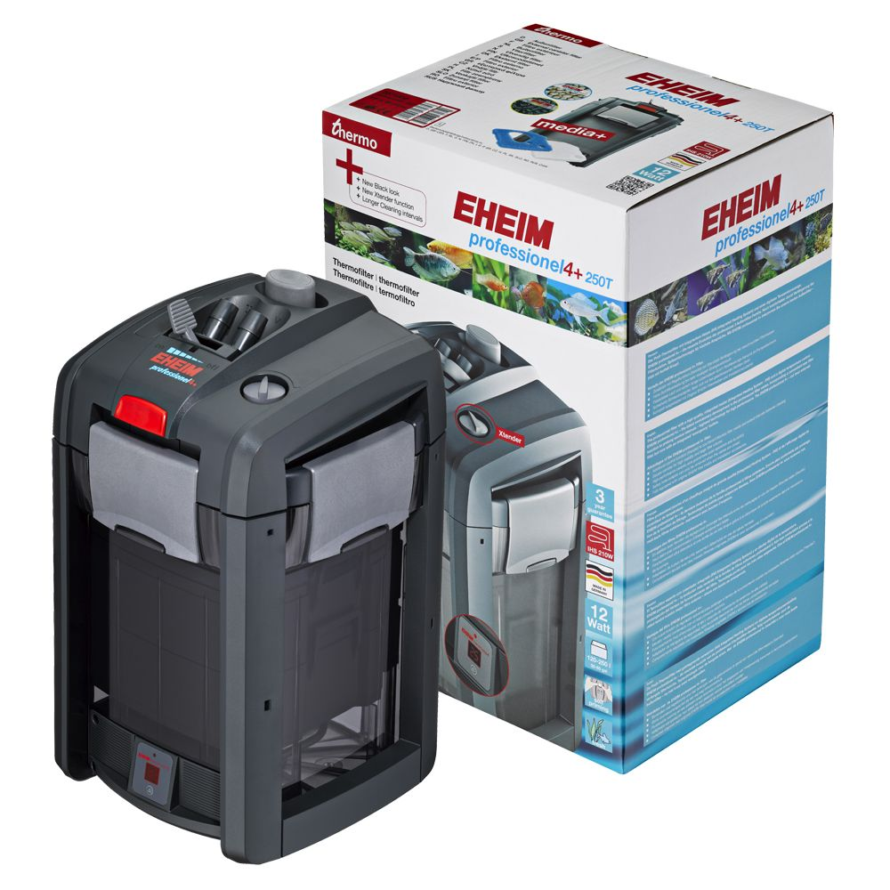 The Eheim professionel 4+ 250 Thermo's quiet running, coupled with great performance and energy efficiency, really help it to shine. However, the key feature is it...