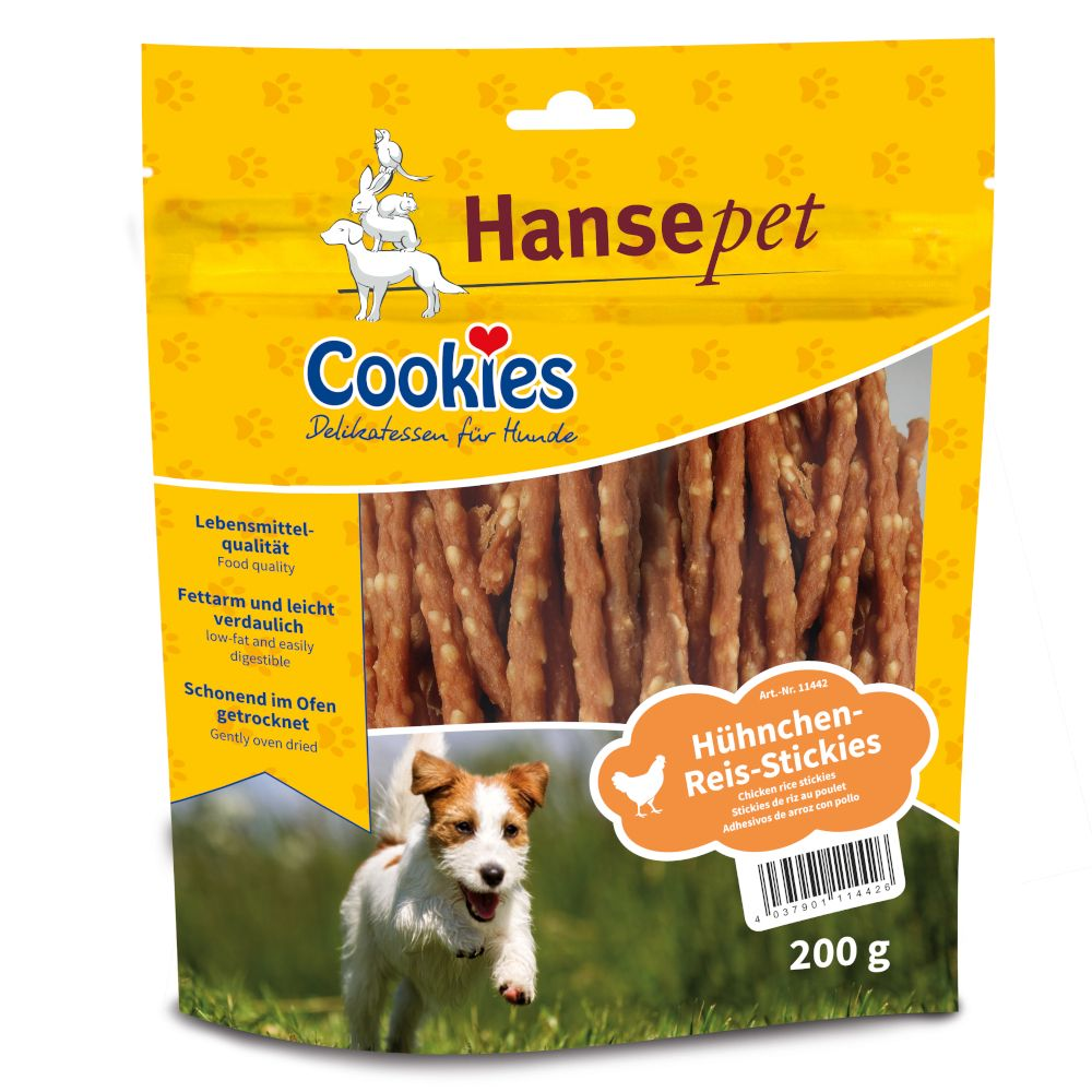 Chicken & Rice Sticks Cookie's Delicatessen Dog Treats