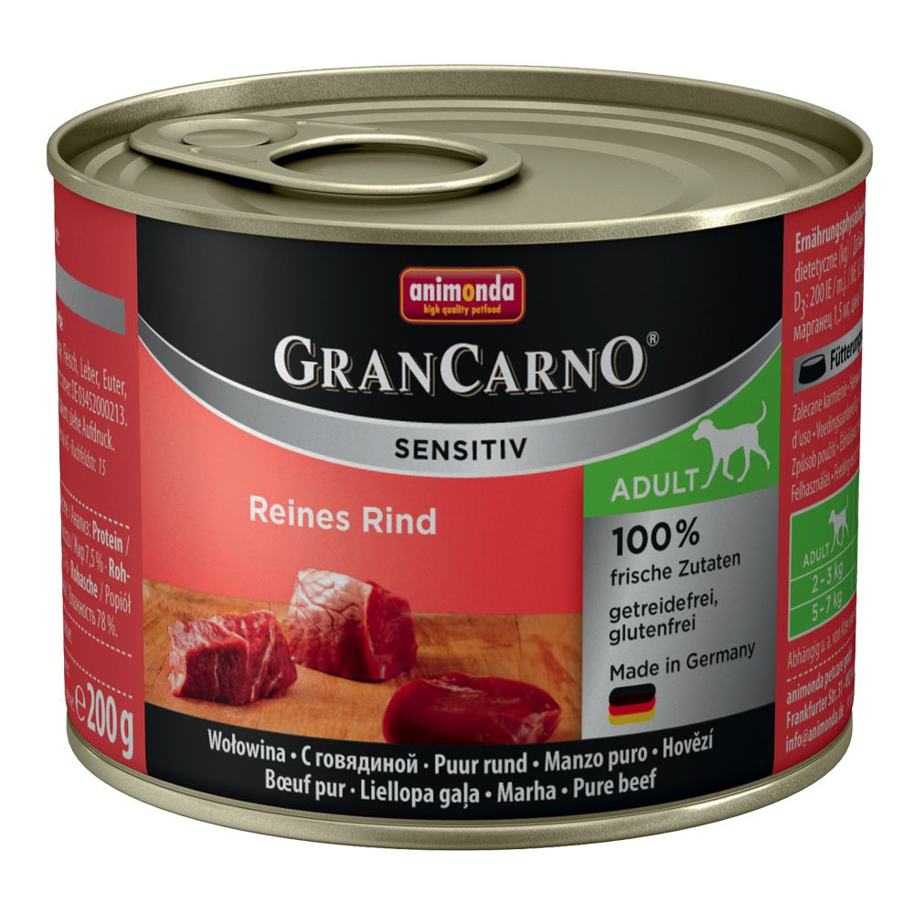 Animonda GranCarno Sensitive Mixed Pack - 6 x 200g