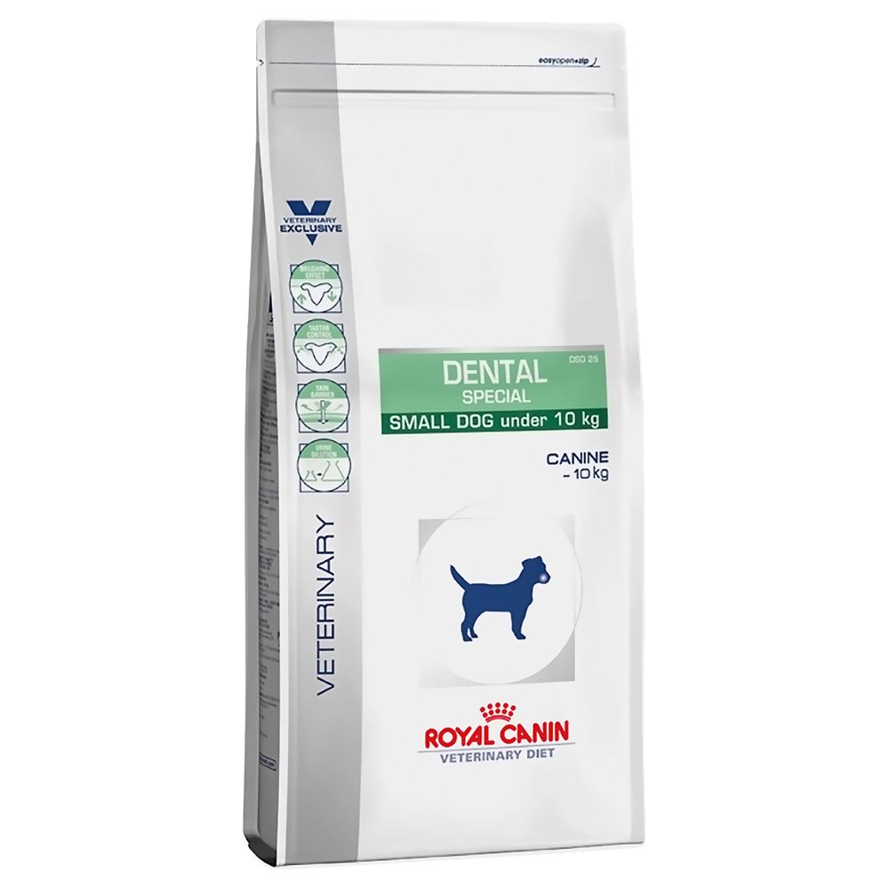 Click to view product details and reviews for Royal Canin Veterinary Diet Dog – Dental Special Small Dog Economy Pack 2 X 35kg.