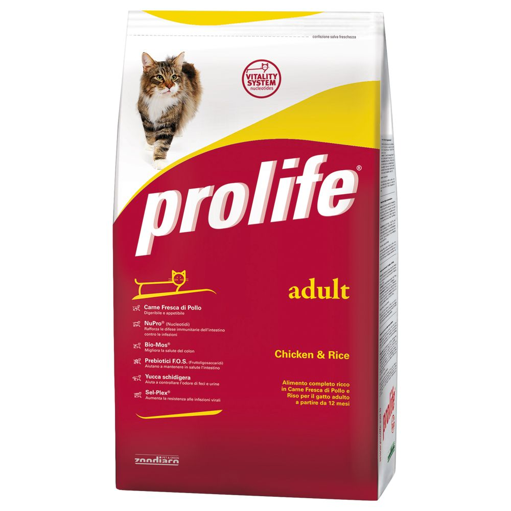 Foto Prolife Adult Cat Pollo & Riso - 2 x 12 kg - prezzo top!
