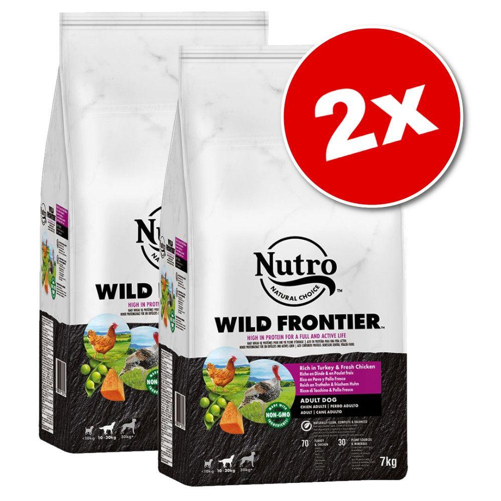 2x7kg Nutro Wild Frontier Adult cerf, bœuf - Croquettes pour chien
