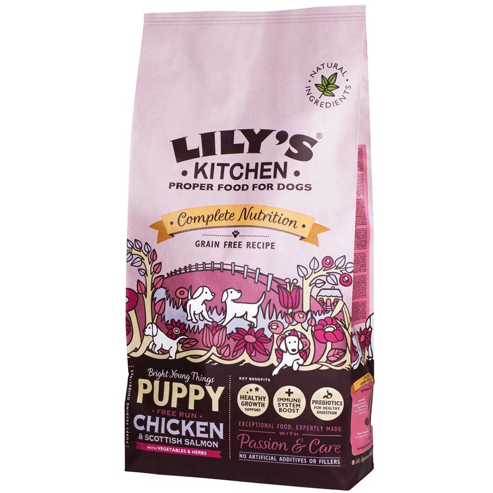Lily's Kitchen Puppy Free Run Chicken & Salmon Dry Food - 7kg