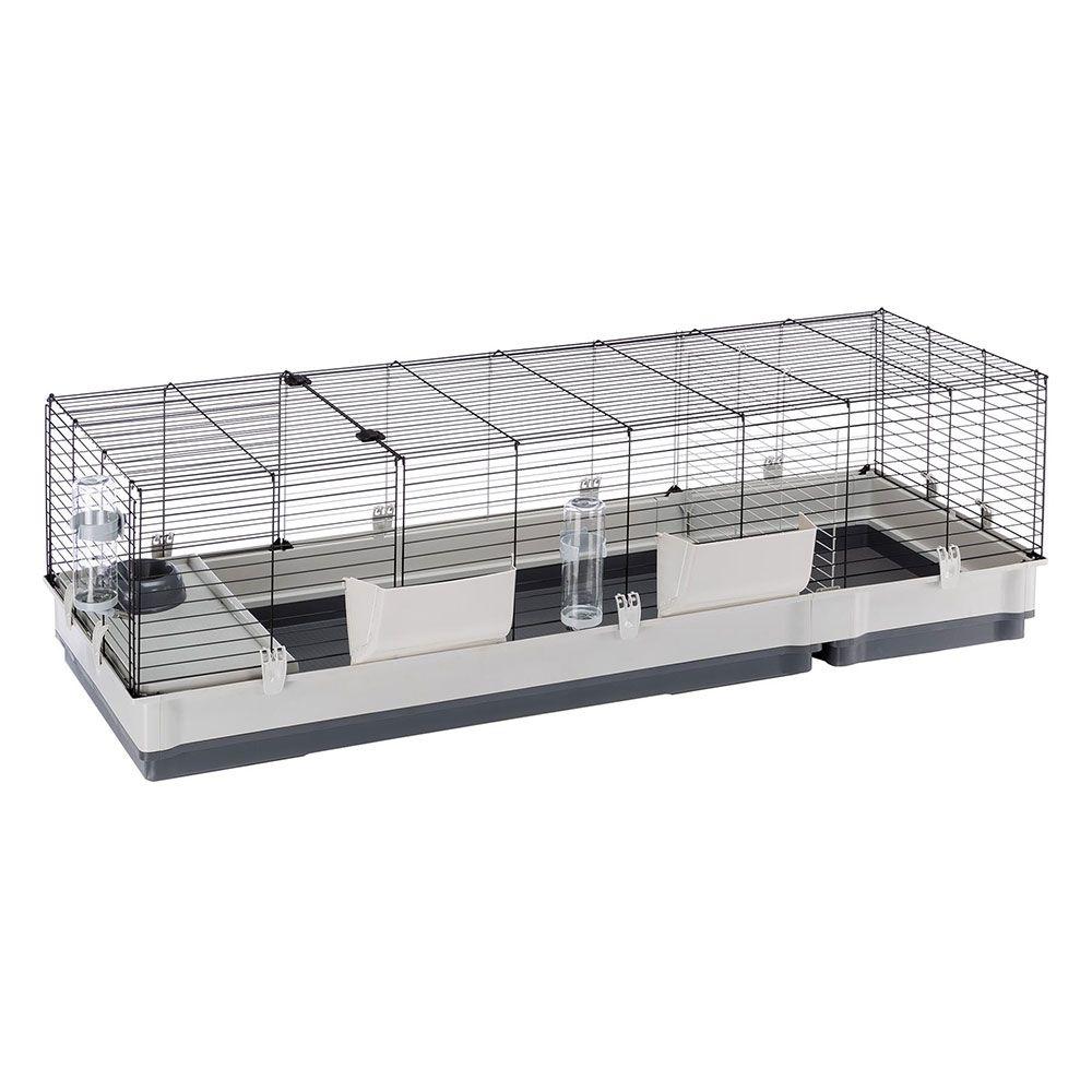 Ferplast Plaza 160 smådjursbur - L 162 x B 60 x H 50 cm