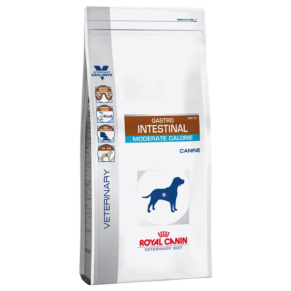 Royal Canin Veterinary Diet Dog - Gastro Intestinal Moderate Calorie - 7.5kg