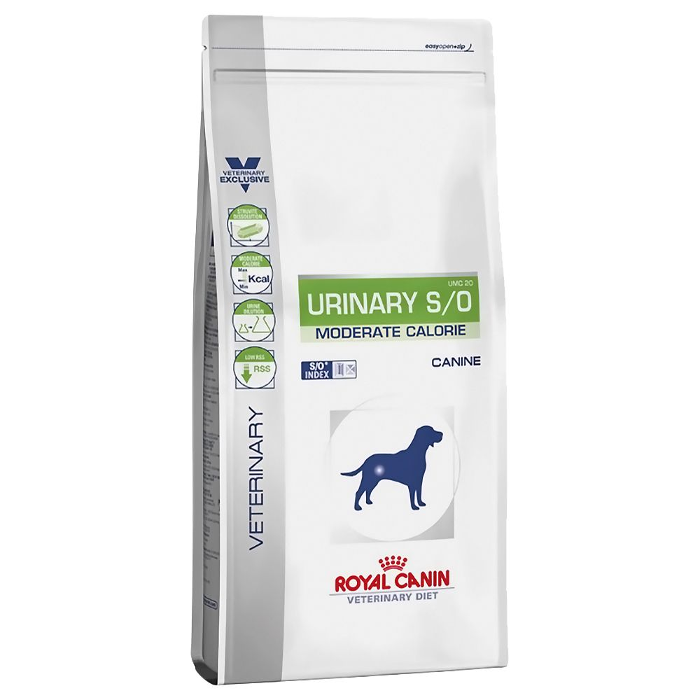 Royal Canin Veterinary Diet Dog - Urinary S/O Moderate Calorie - 12kg