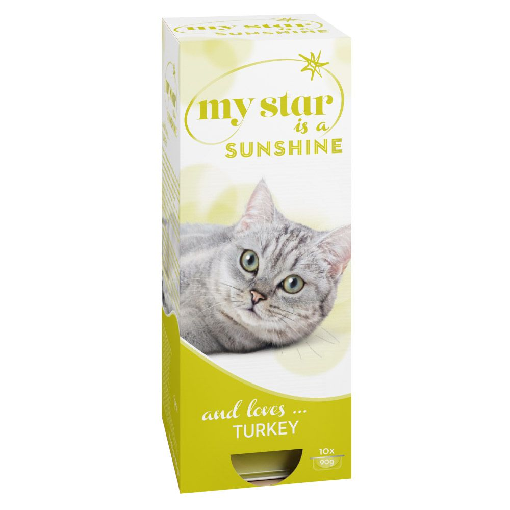 My Star is a Sunshine Wet Cat Food - Turkey - 10 x 90g