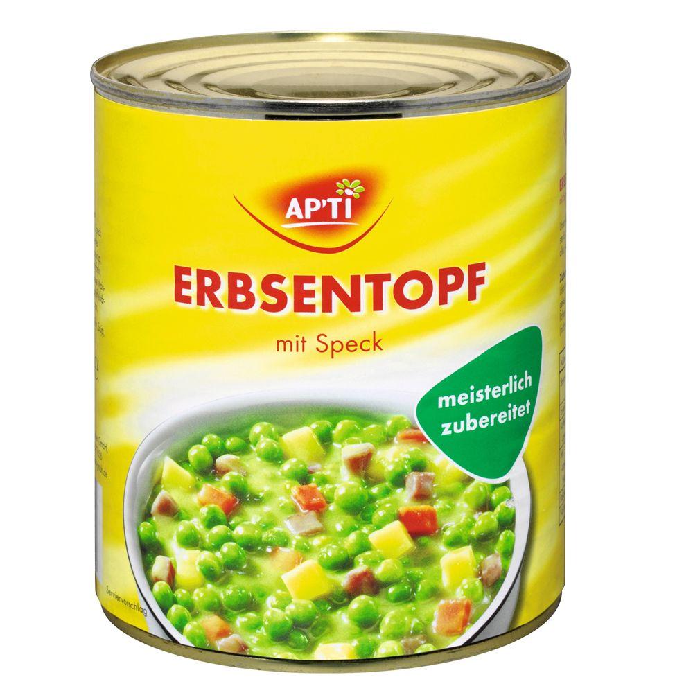 Image of Apti Erbseneintopf mit Speck - 6 x 800 g